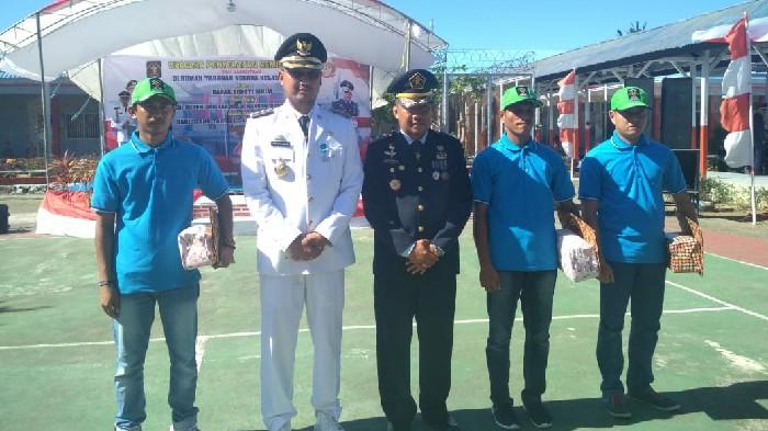 Tiga Warga Binaan Rutan Sinjai Dapat Remisi Bebas di HUT RI ke-74