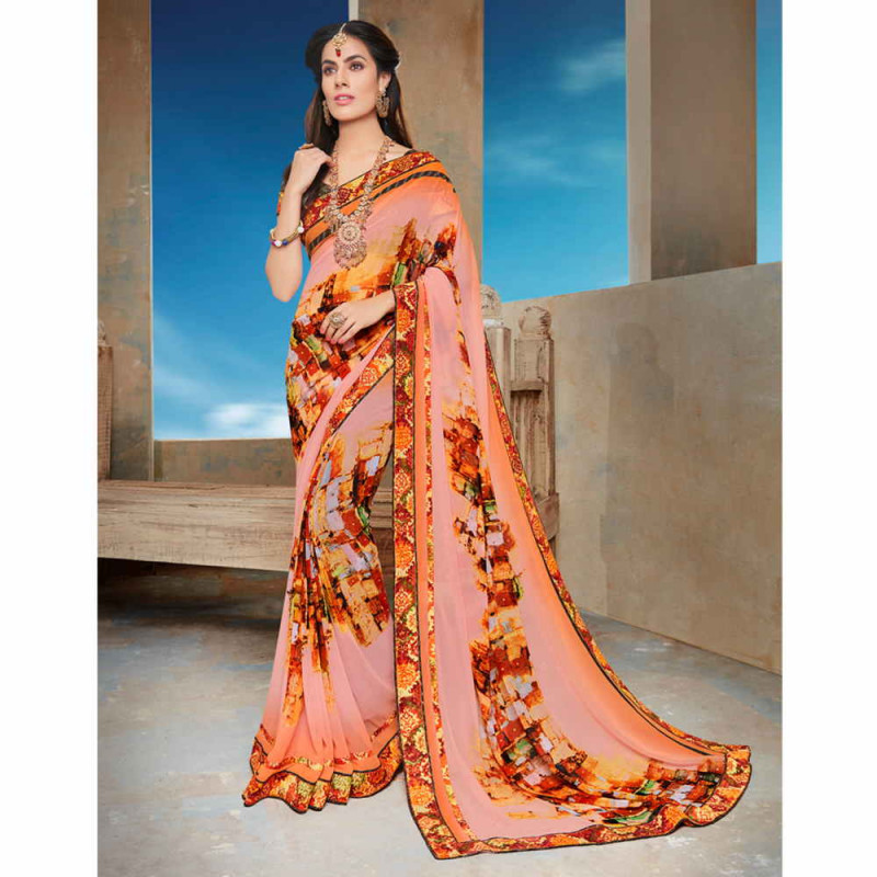 Georgette Saree - 5 Types of Sarees You Must Own For Summer Styling