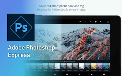 Adobe Photoshop Express aplikasi edit foto terbaik
