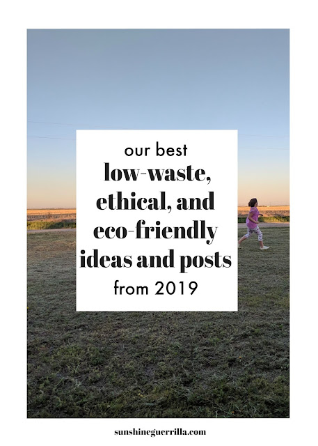 Our Ten Best Eco-Friendly Posts of 2019