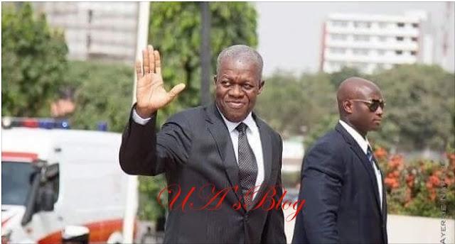 BREAKING: Ghana's Former Vice President, Kwesi Amissah-Arthur Is Dead