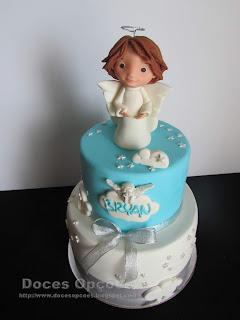 birthday anjel cake