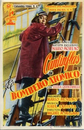 El bombero atómico (1952) [BRrip 720p] [Latino] [Comedia]