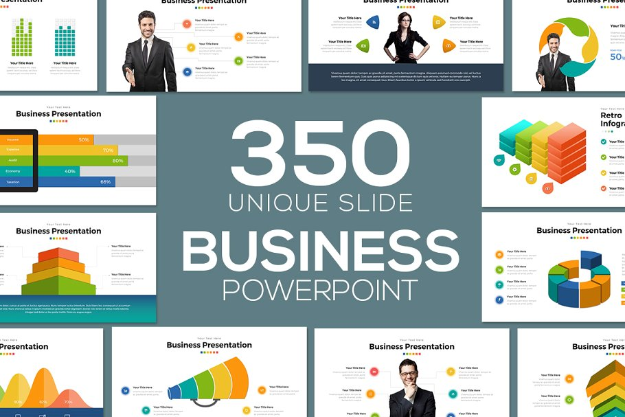50+ Business PowerPoint Templates 2019