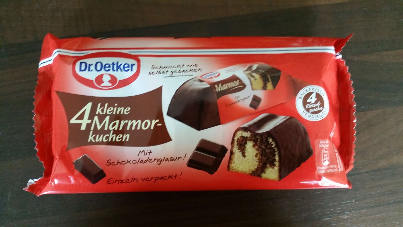 Dr Oetker 4 Kleine Marmorkuchen Suffis Welt