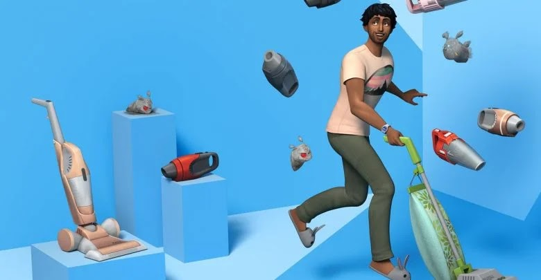 How to clean and remove dust in The Sims 4: Cleaning Tumbler