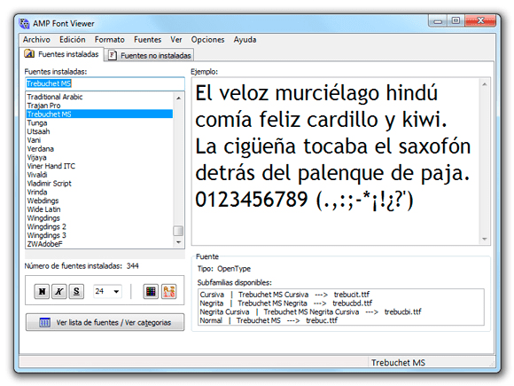 neo 2.0 - Font Viewer
