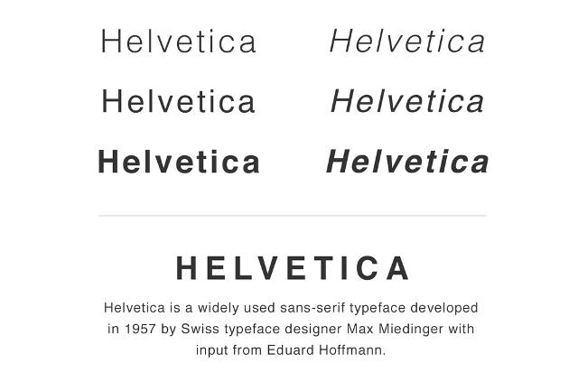 Libre Franklin Font Terbaik Alternatif Huruf Helvetica