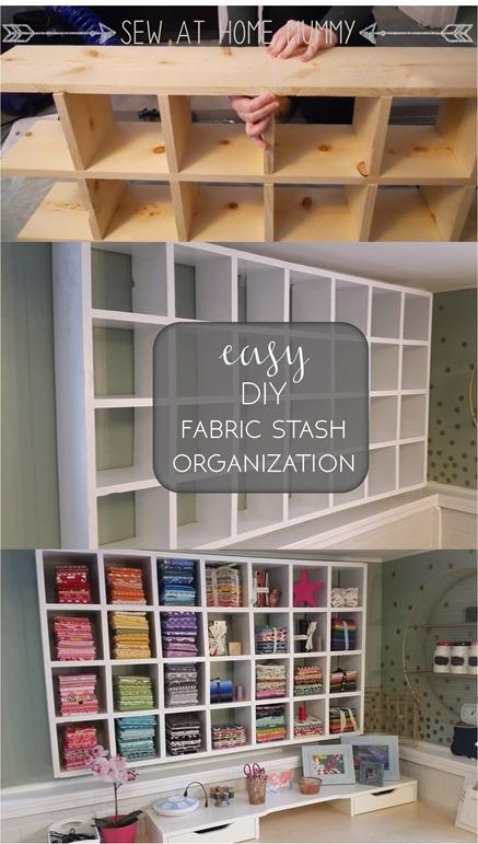 15 Sewing Room Organizing Ideas Go Go Kim