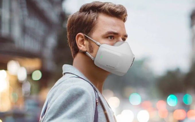 Μάσκα με μπαταρία η απάντηση στα θολωμένα γυαλιά