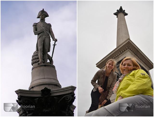 Trafalgar Square to symbol Wielkiej Brytanii.