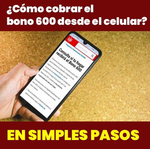 Consulta La PLATAFORMA Con Tu DNI Para El Bono 600 SOLES
