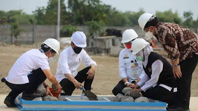 Presiden Jokowi Tinjau Industri Porang di Madiun