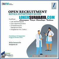 Loker Surabaya di PT Surabaya Industrial Estate Rungkut (BUMN) Oktober 2020