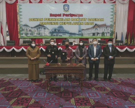 Gubernur Kepri Tandatangani RPJMD 2021-2026, Laksanakan Program Prioritas