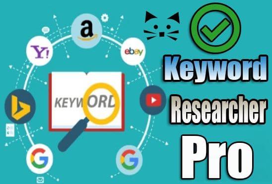 تحميل وتفعيل برنامج Keyword Researcher Pro 13.156 عملاق البحث عن الكلمات المفتاحية