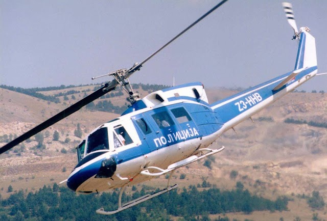 Macedonian Ministry of Interior Affairs employs 12 pilots