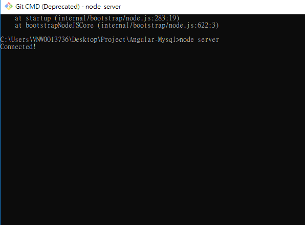 How to connect Nodejs to Mysql - Code Android Example