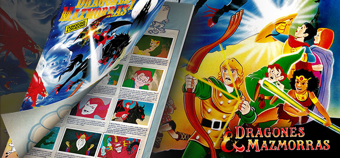 Álbum Dragones y Mazmorras (Pacosa Dos, 1985)