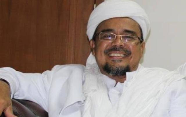 Imam besar Front Pembela Islam (FPI) Habib Rizieq Shihab.