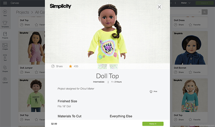 DIY Doll Pajamas with Cricut EasyPress Mini