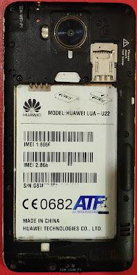 Huawei LUA-U22 Flash File