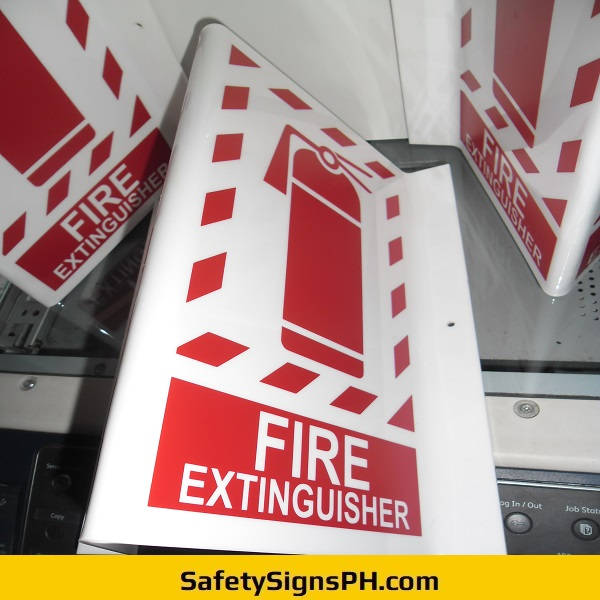 Acrylic Fire Extinguisher Signs Philippines