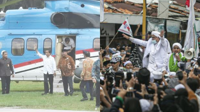 Istana Tolak Ajakan Habib Rizieq Dialog: Bukan Level Jokowi