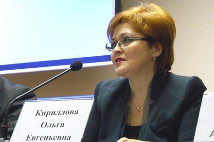 Начальник Главного управления по вопросам миграции МВД РФ полковник внутренней службы Ольга Кириллова