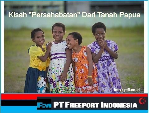 kontribusi freeport indonesia untuk papua