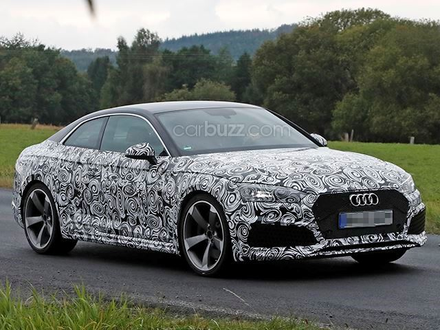 2017 New Audi RS5 Spotted Photo and Review Specs