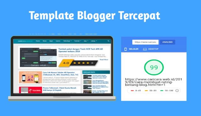 Template blog tercepat kompi