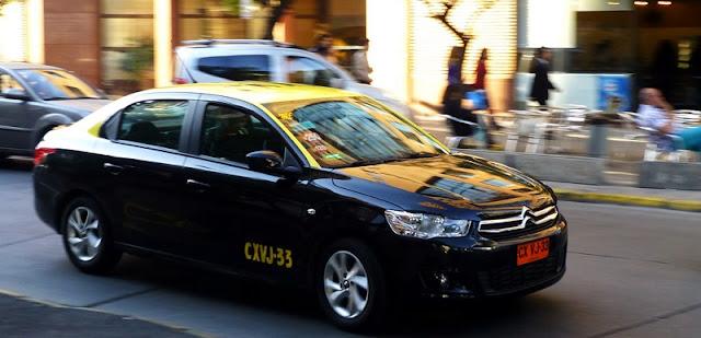 Segurança nos táxis de Santiago