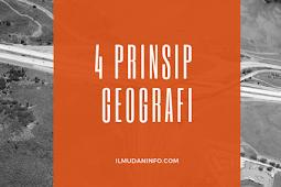 4 Prinsip Geografi