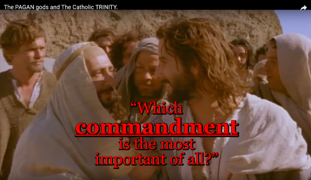 """Which commandment is the most important of all?"""