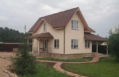 Загородные каркасные дома