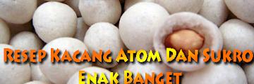 Resep Kacang Atom Enak Banget