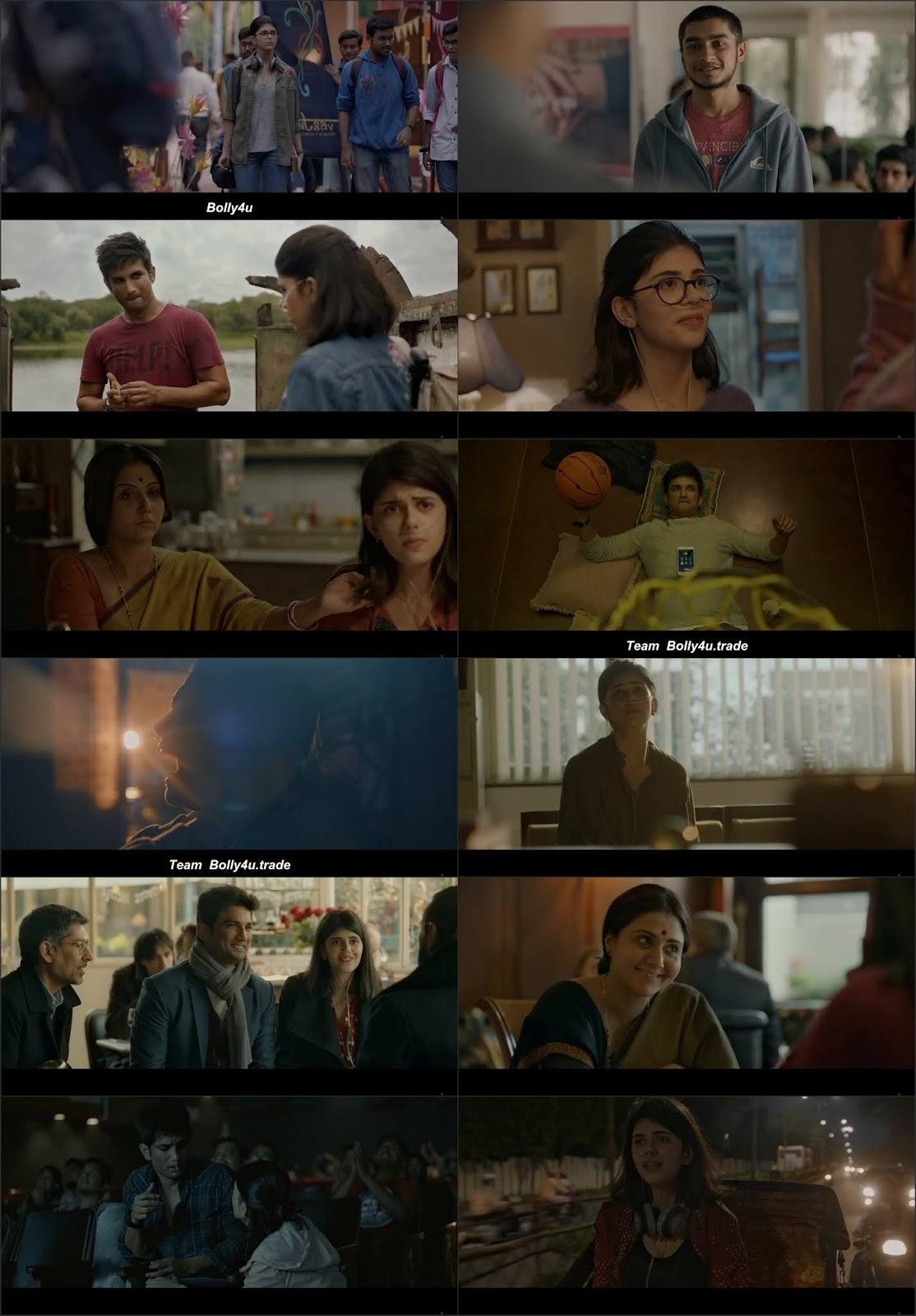 Dil Bechara 2020 WEB-DL 300Mb Hindi Movie Download 480p