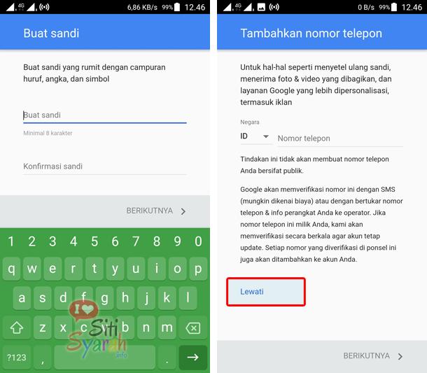 cara tambah akun email baru di hp android
