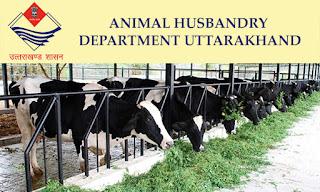 Uttarakhand pashupalan vibhag recruitment 2020 Pashudhan Prasar Adhikari