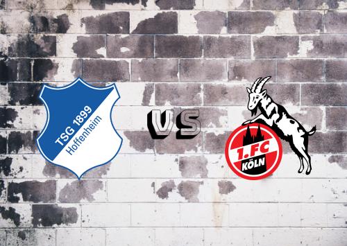 Hoffenheim vs Köln  Resumen