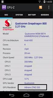 Download CPU Z Untuk Mengecek GPU Hp Dengan Mudah