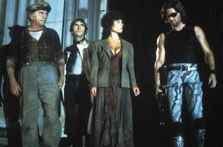 Dunia Sinema Escape from New York Plissken, Cabbie, Brain dan Maggie