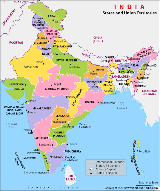 Bharat Mein Kitne Rajya Hain