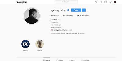 Sydney Talker Hits 3M Followers On Instagram