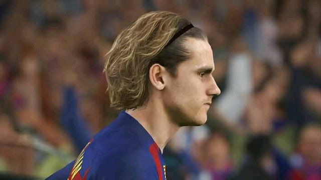 A Griezmann Face With New Hair Pes 2019 Patch Pes New