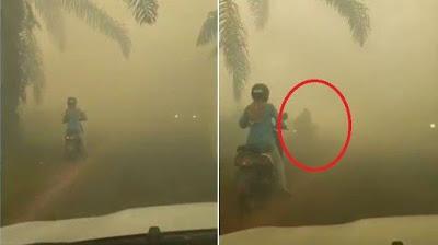 Kabut Asap Makin Tebal di Aceh, Jarak Pandang 2 Kilometer