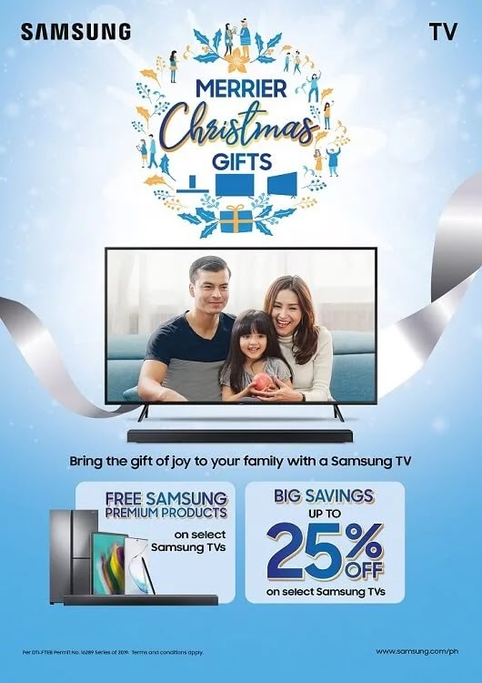 Samsung Intros Merrier Christmas Gifts for TV Promo