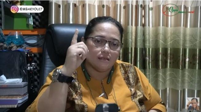 Video Mbak You soal ramalan Jokowi lengsel 2021