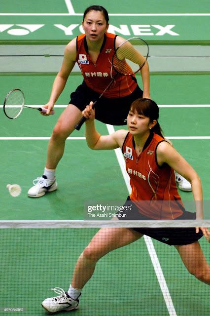 badminton girls
